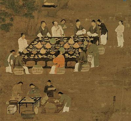 Ancint Chinese Table Manners
