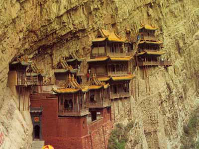 Temples on Cliff