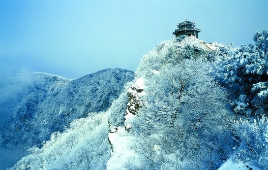 Mount Song in winter