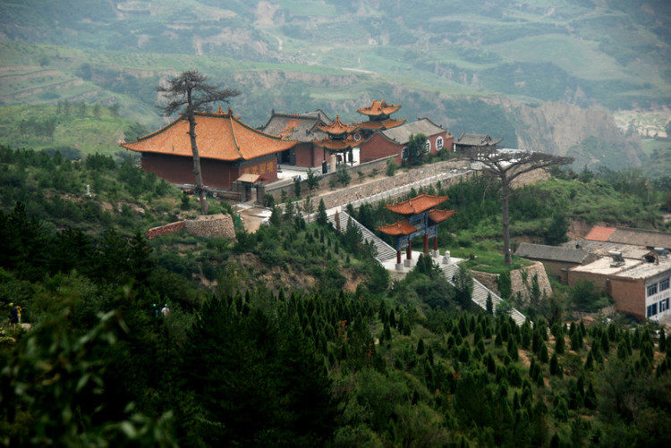 Temples on mountain