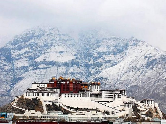 Potala Palace in Winter
