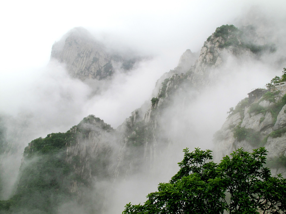 Panorama of Mount Song