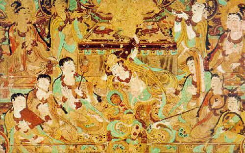 Frescos regarding royals