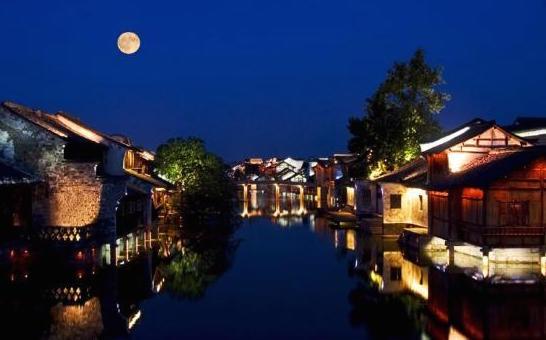 Night view of Wu Zhen