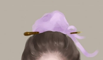 Chinese hair ornament Jin Guo