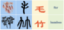 Hieroglyphic Chinese Characters in Chinese Culture