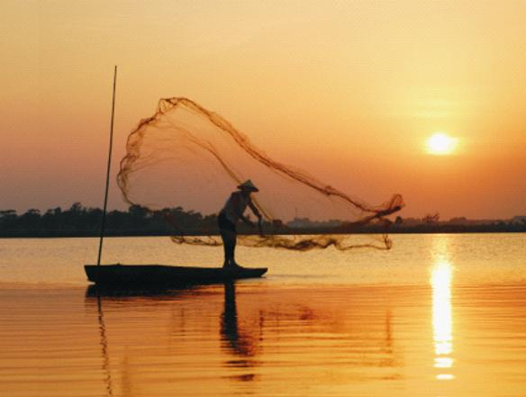 Fisher on Dongting Lake