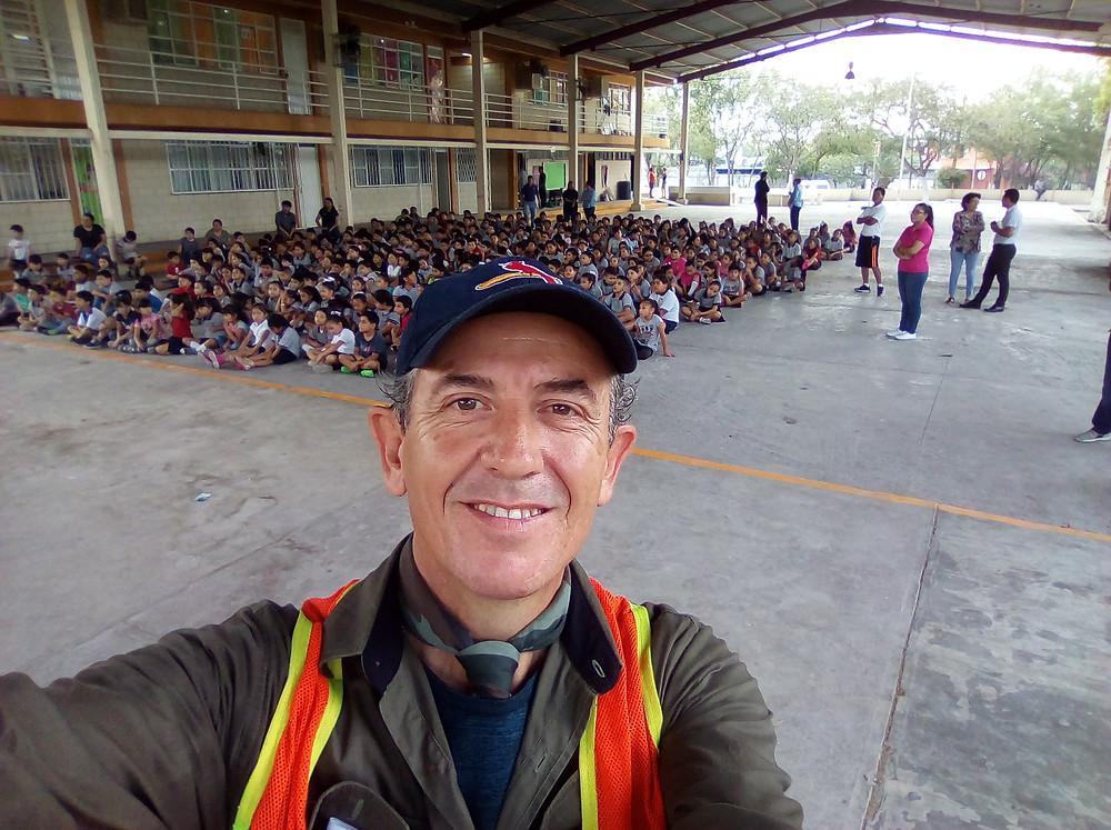 Conferencia en Escuela Primaria Mariano Paredes, de Apodaca, N.L.