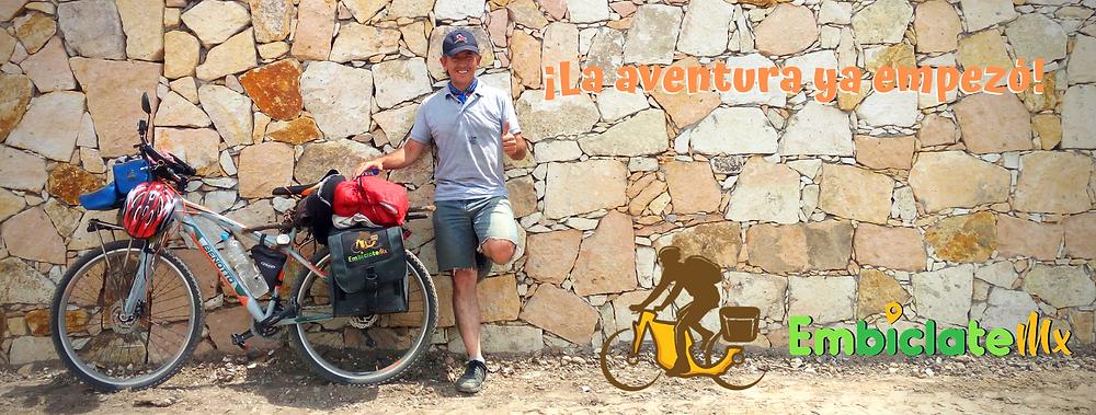 """Ya estaba todo montado en mi """"bicla"""", lista para salir a la aventura…hasta que por fin… me decidí a salir y dar la primera pedaleada."""