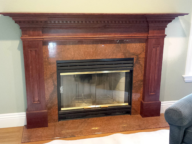 Custom Fireplace Design & Build