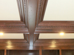 Coffered Ceiling Design and Build