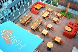 Haven rooftop bar