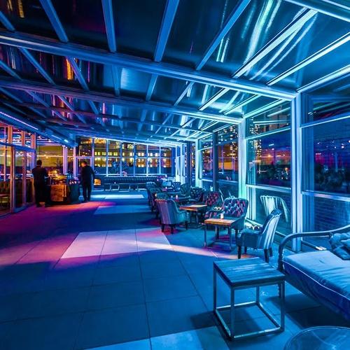 Cantina rooftop bar