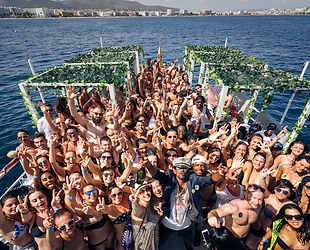 Miami beach boat party day party