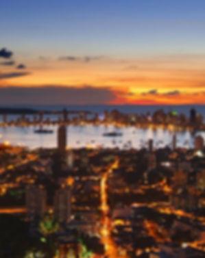 Cartagena Nightlife Cityscape