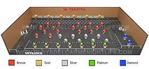 La Vaquita Playa Table layout watermark new.pn