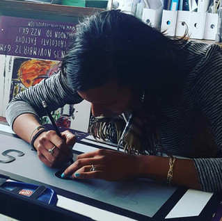 Sign making focuses the mind