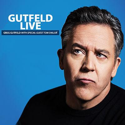 Greg Gutfeld in Memphis at Graceland