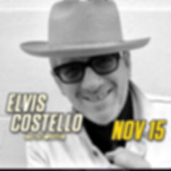 Elvis Costello in concert at Graceland in Memphis