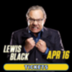 Lewis Black comedy show at Graceland in Memphis