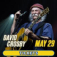 David Crosby in concert at Graceland in Memphis