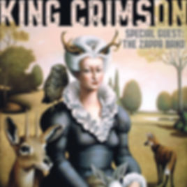 King Crimson in concert at Graceland in Memphis