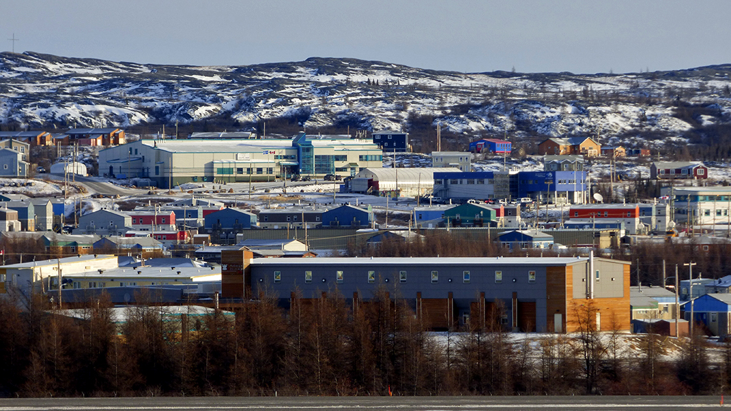 Kuujjuaq-Inn-from-Airport