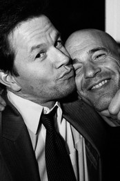 Mark Wahlberg & friend, The Standard, New York
