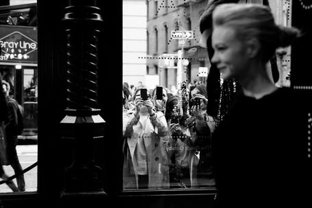 Carey Mulligan, Prada store opening, New York