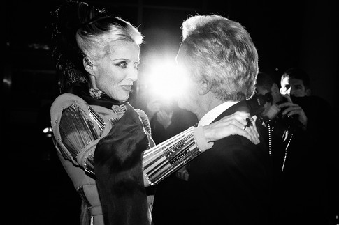 Daphne Guinness & Giancarlo Giametti, New York