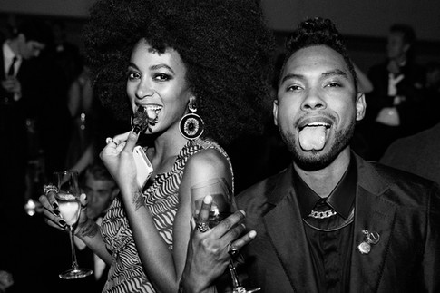 Solange Knowles & Miguel, the Met Gala