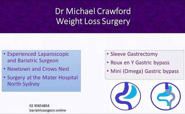 Intro to bariaticsurgeon.online Dr Michael Crawford Weight Loss Surgery