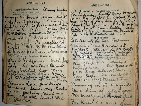 Alice. 3rd - 9th April, 1921.