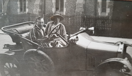 Alice and Vincent, Corporation Road, c. 1920's