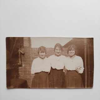 Alice, ? and Kate. c. 1915