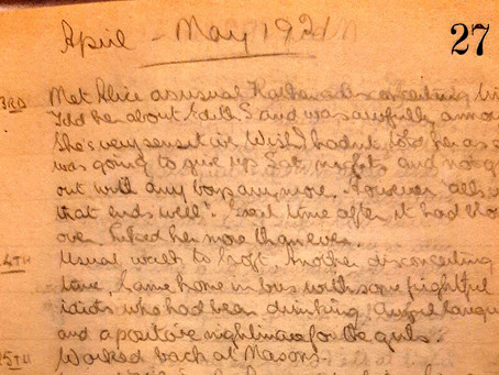 Vincent. 23rd - 25th April, 1921.