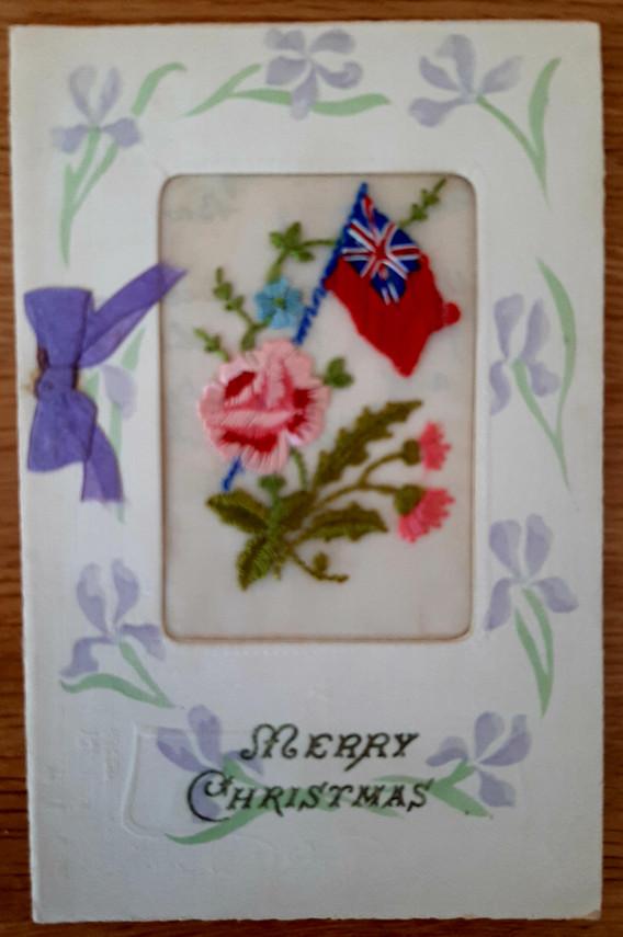 Christmas Card to Alice from Joe, c. 1916?