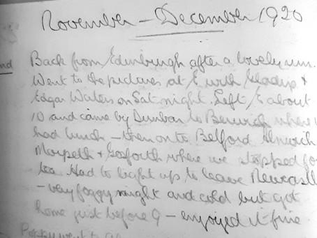 Vincent. Nov 22nd, 1920.
