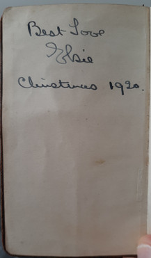 Alice's diary 1921