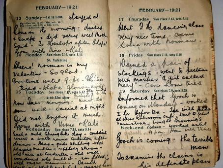Alice. 13th - 19th Feb, 1921.
