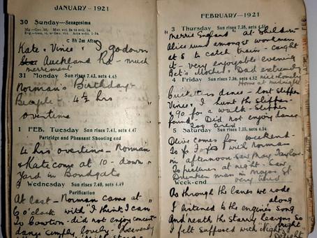 Alice. Jan 30th - Feb 5th, 1921.