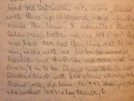 Vincent. 9th - 10th April, 1921.