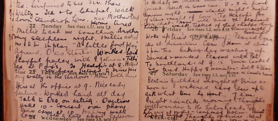 Alice. August 21st - 27th, 1921.