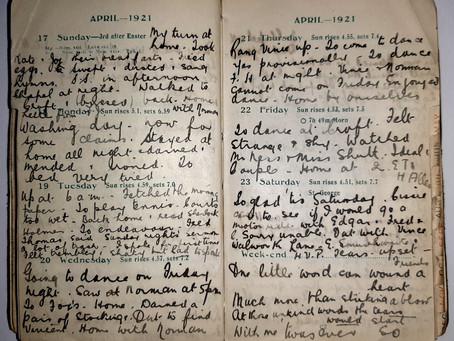 Alice. 17th - 23rd April, 1921.