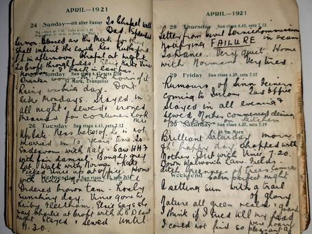 Alice. 24th - 30th April, 1921.