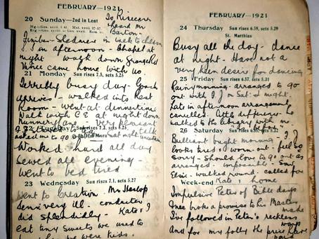 Alice. 20th - 26th Feb, 1921.
