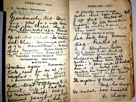 Alice. 6th - 12th Feb, 1921.