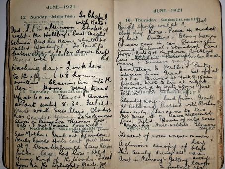 Alice. 12th - 18th June, 1921