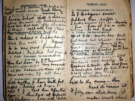 Alice. 27th - 5th March, 1921.