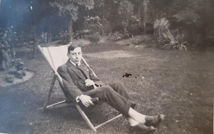 Vincent Relaxing, c. 1920's